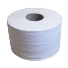 151200 Туалетная бумага в рулонах диаметр втулки 6 см 1 сл серая и белая 200 м mini