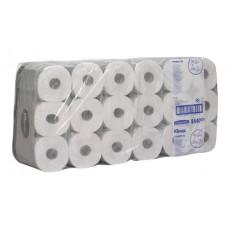 8440 Туалетная бумага в стандартных рулонах Kleenex 350 трёхслойная с логотипом 36 рулонов по 42 метра