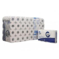 8442 Туалетная бумага в стандартных рулонах Kleenex 350 двухслойная с логотипом 64 рулона по 42 метра