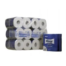 8484 Туалетная бумага в стандартных рулонах Kleenex Premium Extra Comfort четырёхслойная 24 рулона по 19,2 метра