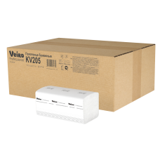 KV205 Полотенца для рук V-сложение Veiro Professional Comfort