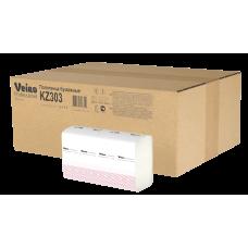 KZ303 Полотенца для рук Z-сложение Veiro Professional Premium