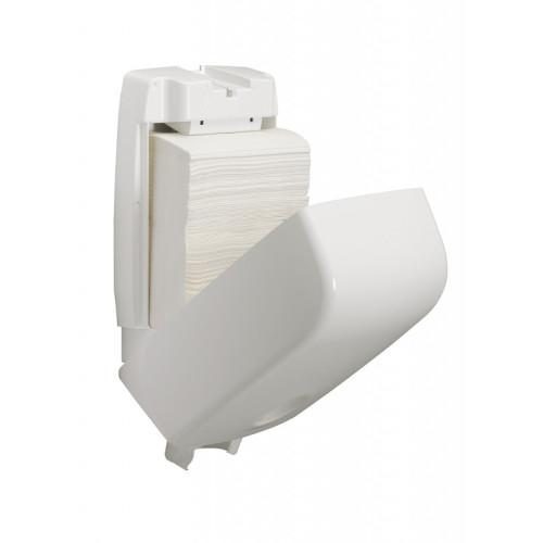 6945 Диспенсер для бумажных полотенец в пачках Aquarius белый