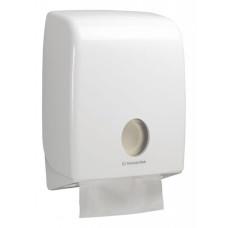 6954 Диспенсер для бумажных полотенец в пачках Aquarius белый (для 6775)