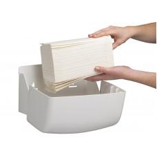 6956 Диспенсер для бумажных полотенец в пачках Aquarius белый (кроме 5856 1126)