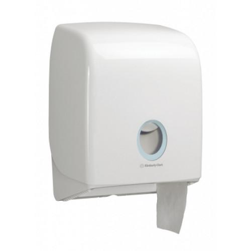 6958 Диспенсер для туалетной бумаги в больших рулонах Aquarius белый (для 8512)