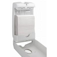 7024 Диспенсер компактный для бумажных полотенец в пачках Aquarius Slimfold (для 5856)