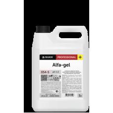 054 Alfa-gel Усиленное средство против известковых отложений и ржавчины, с бактерицидными свойствами