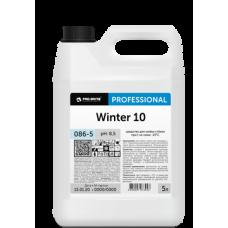 086 Winter 10  Моющее средство для стёкол при t не ниже -10°С,  готовый к применению препарат