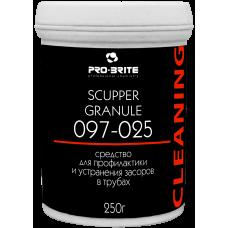 097 Scupper Granule Средство для устранения пробочных засоров в трубах