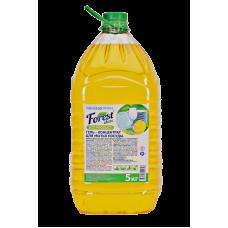 """Гель для мытья посуды """"Сочный лимон"""" Forest Clean"""