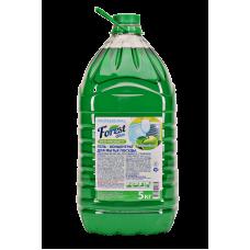 """Гель для мытья посуды """"Зелёное яблоко"""" Forest Clean"""
