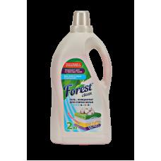 Гель для стирки белья WHITE & Color «Мягкий хлопок» Forest Clean