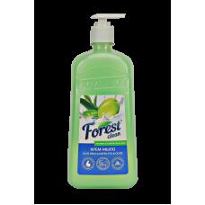 "Крем-мыло ""Алоэ вера, зелёный чай и олива"" Forest Clean"