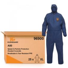 Комбинезон защитный от брызг и твердых частиц KleenGuard A50 воздухопроницаемый синий