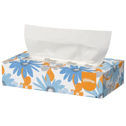 21400 Салфетки косметические для лица Kleenex 36 коробок по 100 листов