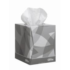 8834 Салфетки косметические для лица Kleenex в кубе 12 коробок по 90 листов
