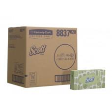 8837 Салфетки косметические для лица Scott 21 коробка по 100 листов