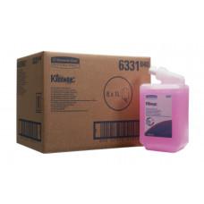 6331 Жидкое мыло в кассетах Kleenex Everyday Use лосьон для рук 6 кассет по 1 литру