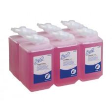 6340 Жидкое мыло пенное в кассетах Scott Essential лосьон для рук 6 кассет по 1 литру