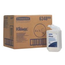 6348 Жидкое мыло пенное в кассетах Kleenex антибактериальное 6 кассет по 1 литру