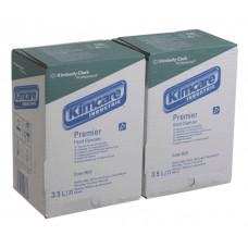 9522 Индустриальное жидкое мыло в кассетах Kimcare Industrie Premier 2 кассеты по 3,5 литра