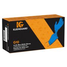 Перчатки нитриловые Kimberly-Clark KleenGuard G10 Arctic Blue, 0.06 мм, синие, (10 х 180-200 шт.)