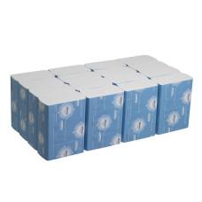 4632 Бумажные полотенца в пачках Kleenex Ultra Multifold белые двухслойные 16 пачек по 150 листов