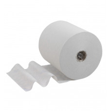 6622 Бумажные полотенца в рулонах Scott Control белые однослойные (6 рулонов по 300 метров)
