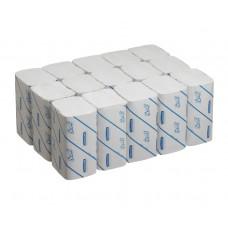 6663 Бумажные полотенца в пачках Scott Performance белые однослойные 15 пачек по 212 листов