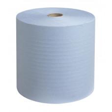 6668 Бумажные полотенца в рулонах Scott Xtra голубые однослойные 6 рулонов по 304 метра