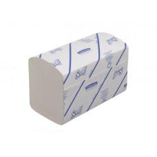 6677 Бумажные полотенца в пачках Scott Xtra белые однослойные 15 пачек по 320 листов