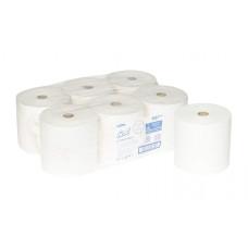 6687 Бумажные полотенца в рулонах Scott XL белые однослойные 6 рулонов 354 метра