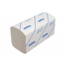 6775 Бумажные полотенца в пачках Scott белые однослойные 15 пачек по 320 листов