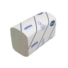 6777 Бумажные полотенца в пачках Kleenex Ultra белые двухслойные 30 пачек по 124 листа