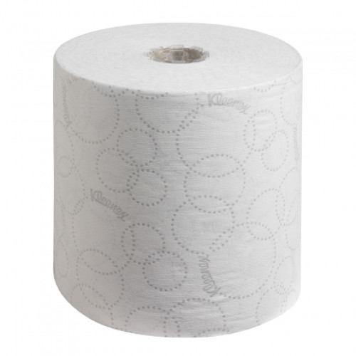 6780 Бумажные полотенца в рулонах Kleenex Ultra белые двухслойные 6 рулонов по 150 метров