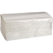 Полотенца бумажные листовые V-сложения 1-слойные 20 пачек по 250 листов