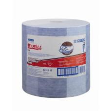 12889 Протирочный материал в рулонах WypAll X90 голубой (1 рулон 450 листов)