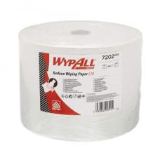 7202 Протирочный материал в рулонах WypAll L10 однослойный белый (1 рулон 1000 листов)