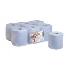 7277 Протирочный материал в рулонах с центральной вытяжкой WypAll L20 Essential однослойный голубой (6 рулонов по 400 листов)