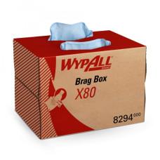8294 Протирочный материал в коробке WypAll X80 голубой (1 коробка 160 листов)