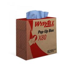 8295 Протирочный материал в коробке WypAll X80 голубой (5 коробок по 80 листов)