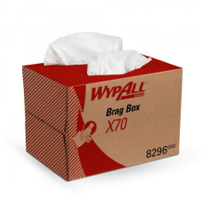 8296 Протирочный материал в коробке WypAll X70 белый (1 коробка 200 листов)
