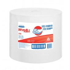 8348 Протирочный материал в рулонах WypAll X70 белый (1 рулон 870 листов)