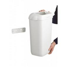 6993 Мусорное ведро пластиковое Kimberly-Clark Aquarius белое (2 ведра по 43 литра)